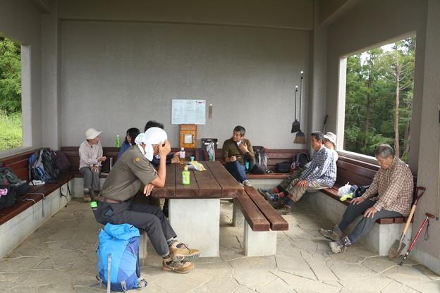 富幕山山頂休憩舎2019年「令和元年」9月22日