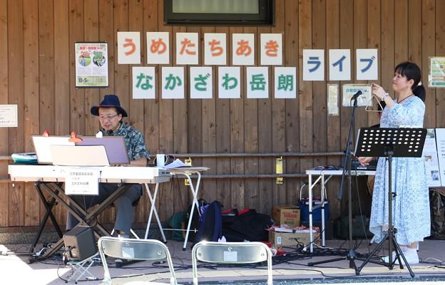 森林公園 童謡・叙情歌ライブうめたちあき&なかざわ岳郎