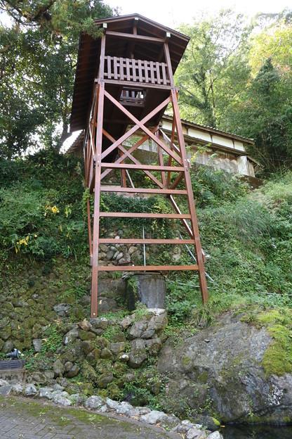 清瀧寺の井戸(櫓、やぐら)
