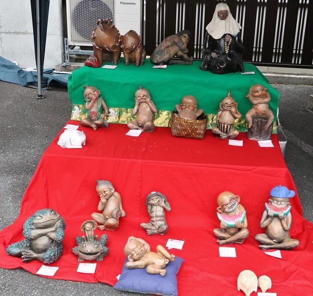 天龍産業観光まつり陶芸
