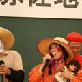 Photos: 赤佐地区文化祭麦畑松っつあんとおよね。お地蔵さん