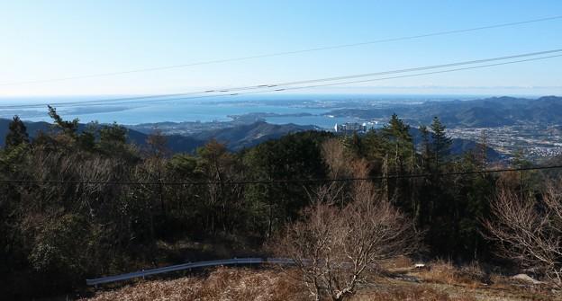 富幕山から浜名 湖猪鼻湖方面