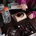 バレンタインチョコと北海道産バースクチーズケーキ