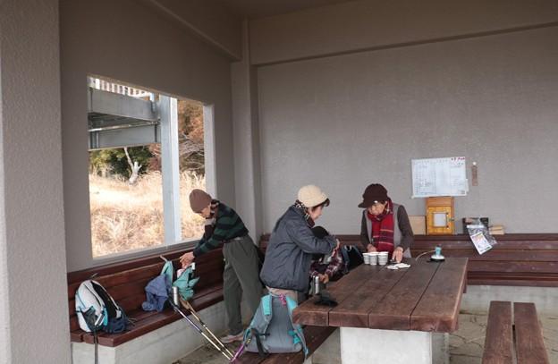 富士山今日2回目の休憩舎