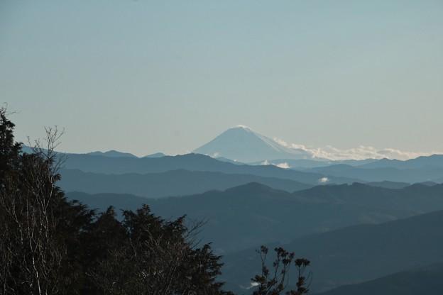 Photos: 今朝の富幕山展望デッキより富士山