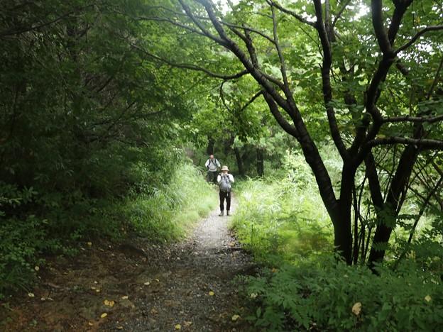 Photos: imu):Tさんが登って来ました。