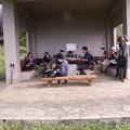 Photos: 今朝の休憩舎