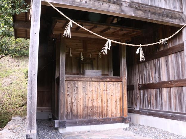 太田川ダム片吹の郷 西宮天皇八幡神社