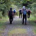 富幕山から下山途中「遠州白熊、えんしゅうはぐま」見ていたら誰か写真撮っていたので見たら(A)さんでしたが、今から「長楽寺、ちょうらくじ)に行くと言ってたので同行しました。
