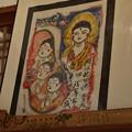 Photos: 長楽寺尼僧住職「吉田真誉、よしだしんよ」さん仏画