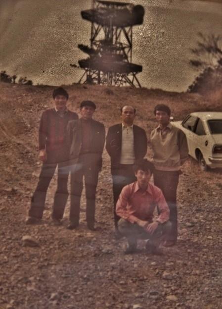 富幕山山頂、昔写真