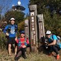 トレラン尉ヶ峰~富幕山で一人引き返し。~他二人は湖西連峰を越え新所原までと赤シャツの一人は豊橋まで行くようです。