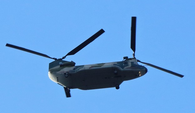 自衛隊ヘリ略称:CH-47JA 愛称:チヌーク