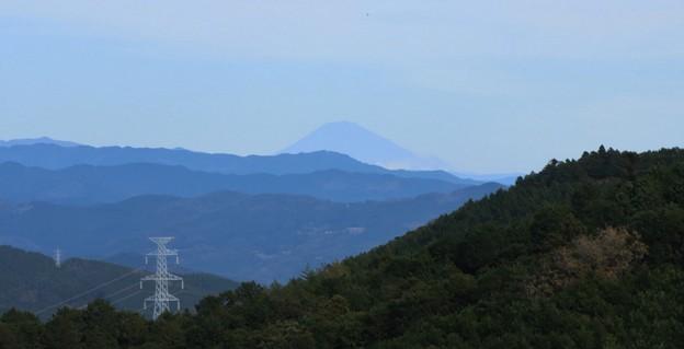 富幕山パノラマから富士山