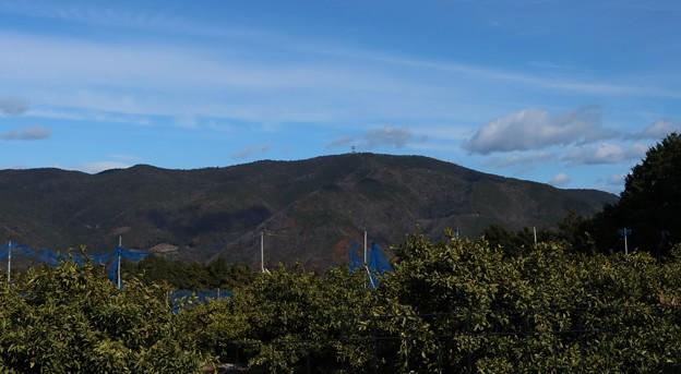 高山ふれあいの森方面より富幕山