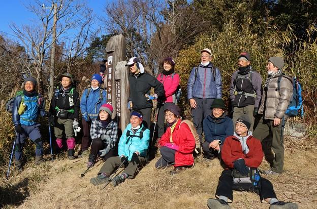 富幕山へ(S)さん知り合いのグループがこれから尉ヶ峰へ行くと言っていました。