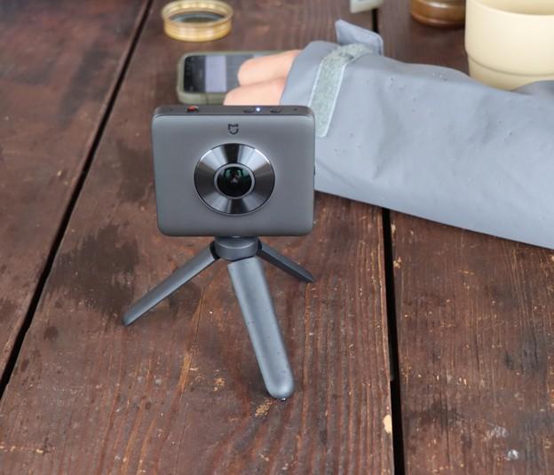 imuさん180°カメラ~スマホにテスト使用