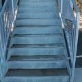 Photos: 富幕山休憩舎展望デッキ階段凍結により補修工事するようです。