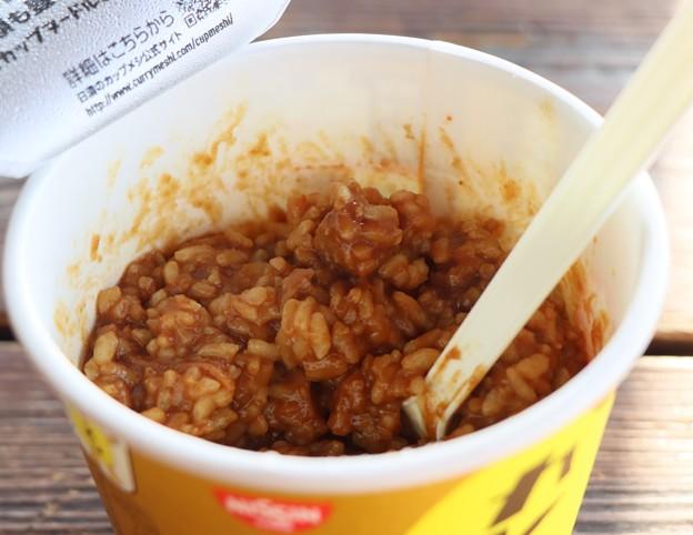 Photos: 今朝の朝食カレー飯