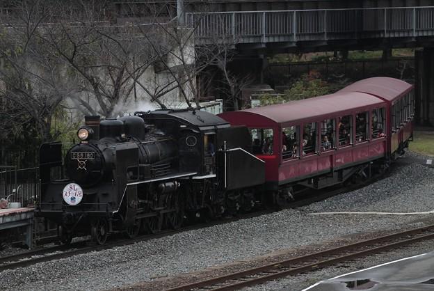 C56 160牽引 SLスチーム号