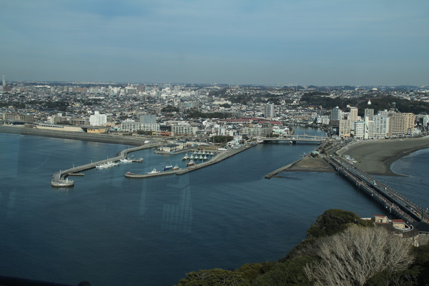 写真: 展望_江ノ島 D6344