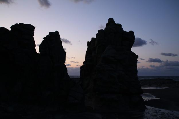 千畳敷海岸_五能線 D3649