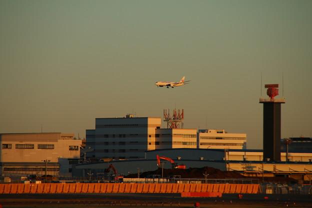 飛行機_成田 D4443