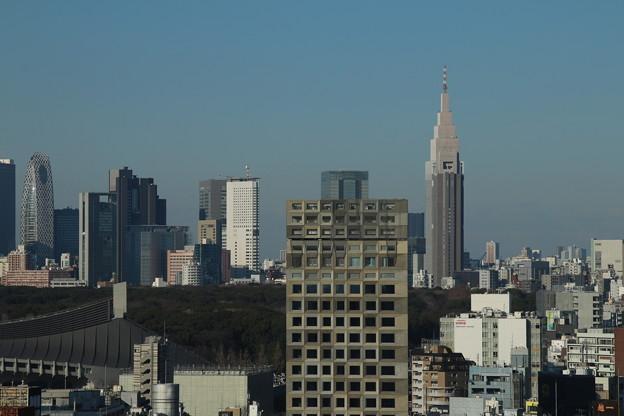ビル群_渋谷 D4593