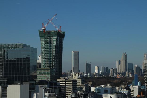 ビル群_渋谷 D4594