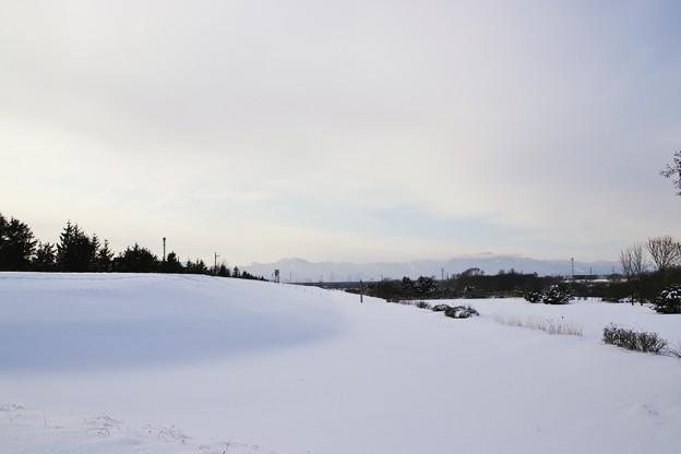 果てしない大雪原