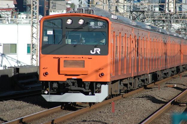 中央線201系電車(菱形パンタ)