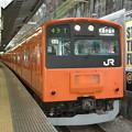 Photos: 御茶ノ水駅に停車する201系(中央線)