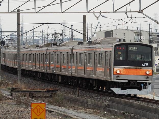 武蔵野線205系電車(M2) その2