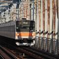 Photos: 江戸川鉄橋上り列車進行中之図