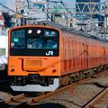 Photos: No.75 中央線快速201系