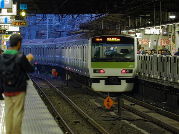ある通勤電車