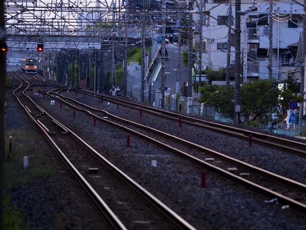長い長い鉄の道