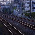 Photos: 長い長い鉄の道