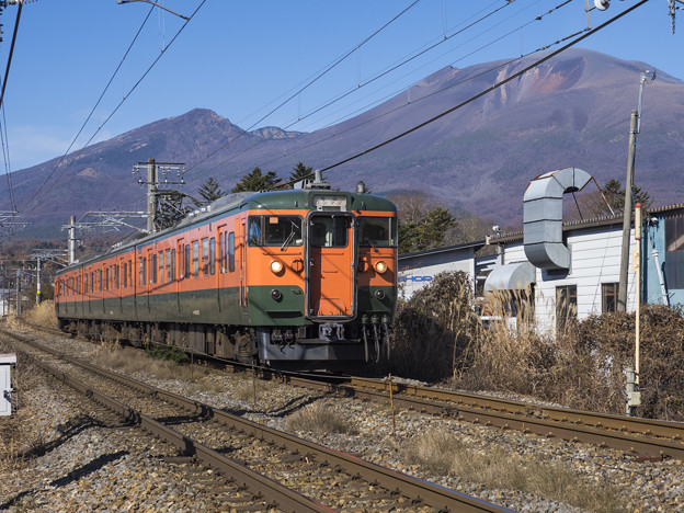 湘南色と浅間山