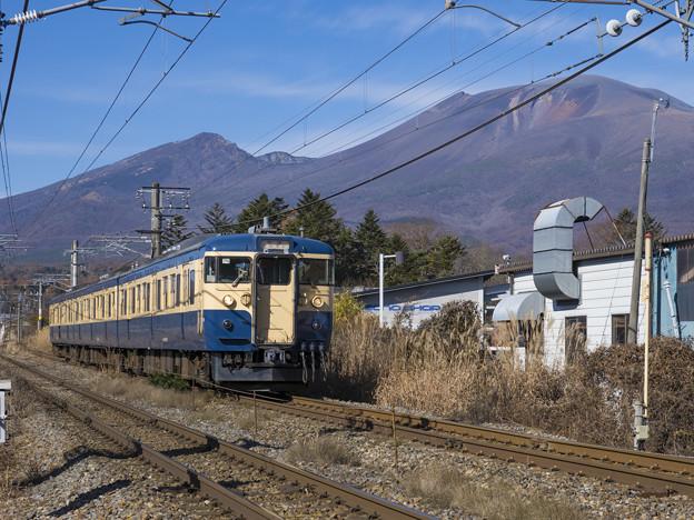横須賀色と浅間山