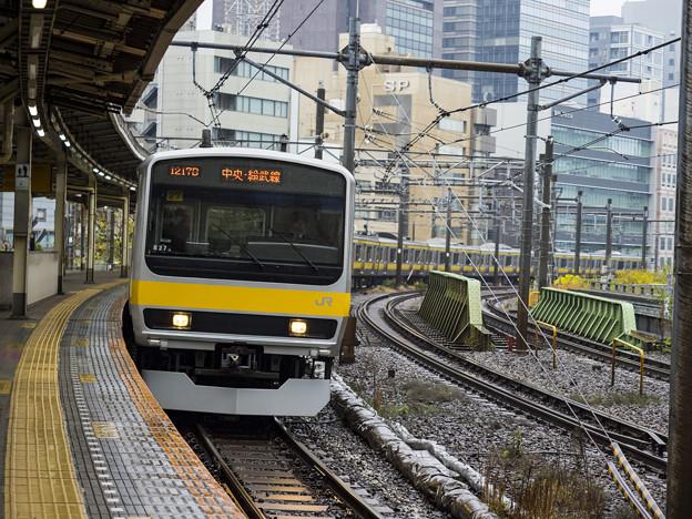 飯田橋駅旧ホーム
