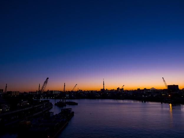 Photos: 青砥橋からの眺め