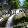 初夏の滝音