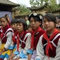 写真: 納西族の少女達