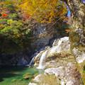 アメガエリの滝3