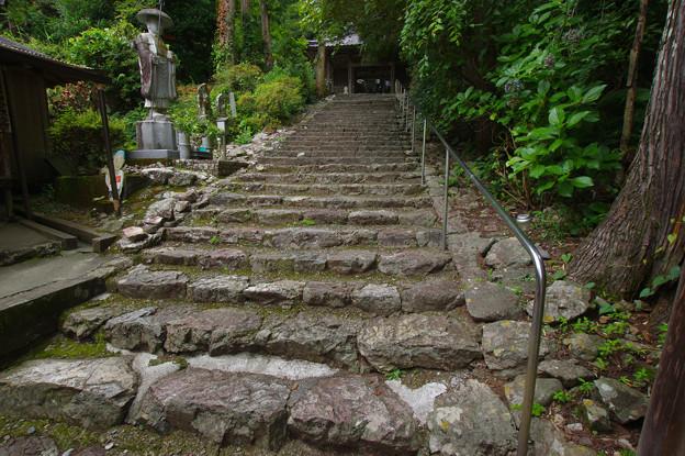Photos: 青龍寺の石段