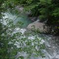 別府峡の流れ