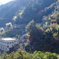 山の発電所