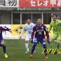 3月21日徳島戦 ゴール前