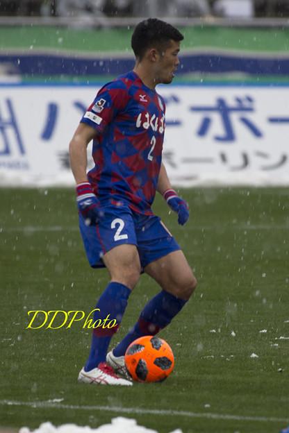 3月21日ホーム徳島戦 湯澤選手